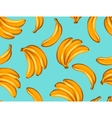 Seamless pattern with bananas Tropical abstract vector image
