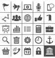 Universal Icon Set 25 icons for website and app vector image vector image