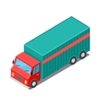 Delivery Van Truck Specialized to Deliver Cargo vector image