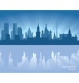 Moscow Russia skyline vector image