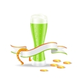 st patricks day beer vector image vector image
