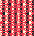 red ancient seamless pattern vector image