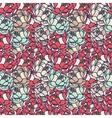 Floral gentle pattern vector image