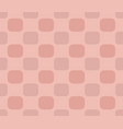 dark pink checkered pattern vector image
