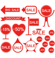 Sale Holiday stickers vector image