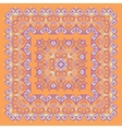 Bandana Pattern Colorful vector image
