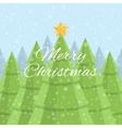 Merry Christmas Christmas card Daytime Christmas vector image