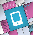 Tablet icon sign Modern flat style for your design vector image