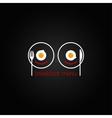 breakfast food scrambled menu design backgraund vector image vector image