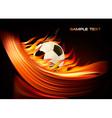 football euro 2012 vector image vector image