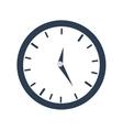 clock time business money design vector image
