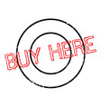 Buy here rubber stamp vector image