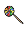 Lollipop Icon vector image