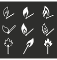 Match icon set vector image