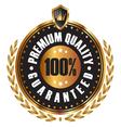 Premium quality guaranteed vector image