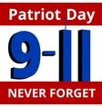 Patriot Day vector image