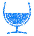 remedy glass grunge icon vector image
