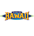 Hawaii The Aloha State vector image