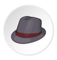 Hat icon cartoon style vector image
