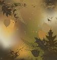 Leaf autumn - background vector image vector image