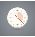 Chronometer icon in EPS10 vector image