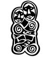 prehistoric art vector image