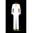 mans suit for your design vector image vector image