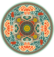 Chinese Traditional Pattern Rosette vector image vector image