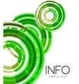 Futuristic design elements hi-tech layout vector image vector image