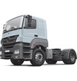 European commercial freight vehicle vector image vector image