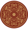 Chinese Traditional Pattern Rosette vector image