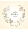 Floral Garland vector image