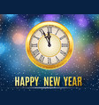 new year and christmas concept vector image