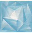 abstract background on crumpled paper texture vector image vector image