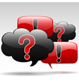 Question-Exclamation vector image vector image