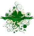 four leaf clover design vector image