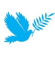 bird dove of peace vector image