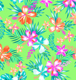 sweet tropical fashion pattern vector image