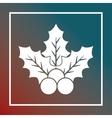 snowflake merry christmas image vector image