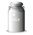 A canned fresh milk vector image vector image