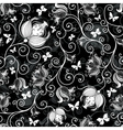 floral pattern print vector image vector image