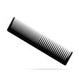comb black vector image
