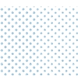 Pattern in blue polka dot vector image