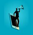 business concept for digital marketing vector image