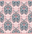 ethnic hand drawn seamless pattern vector image