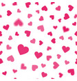 heart pink pattern vector image