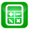 calculator app icon vector image