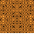 Geometry pattern orange vector image vector image