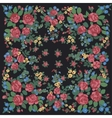 Flower Fabric Pattern vector image