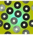 Gramophone record Pop art vector image